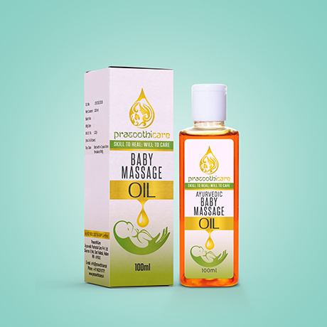 Baby Massage Oil Image